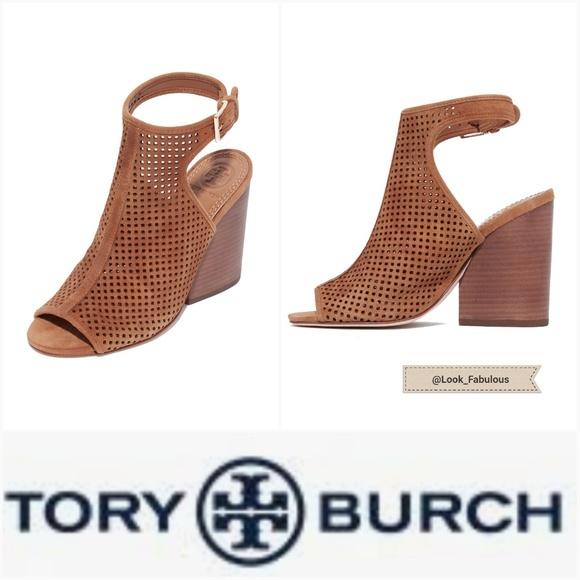 Tory Burch Shoes - Buy 1 get 1 FREE Sale! NWT TORY BURCH BROWN BOOTIE